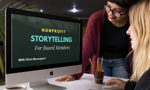 How to Tell a Good Nonprofit Story